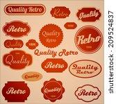 price labels    Shutterstock . vector #209524837