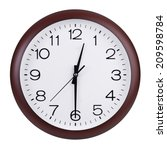 half of the first on the dial   Shutterstock . vector #209598784