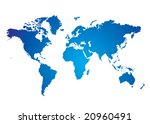 blue and white illustrated... | Shutterstock . vector #20960491