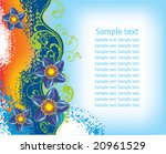 floral background | Shutterstock .eps vector #20961529