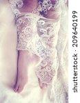 wedding lace | Shutterstock . vector #209640199