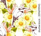 abstract elegance seamless... | Shutterstock . vector #209699941