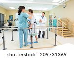 mid adult female patient being... | Shutterstock . vector #209731369