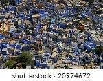 jodhpur  the blue city. india | Shutterstock . vector #20974672