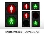 Illustration Of Pedestrian...