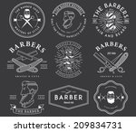 vector badges for any use | Shutterstock .eps vector #209834731