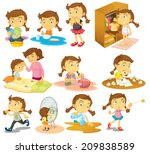 illustration of the different... | Shutterstock . vector #209838589