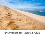 View From The Dune Of Pyla ...