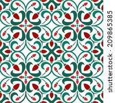 Strawberry Seamless Pattern ...
