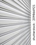 texture of shutter door or... | Shutterstock . vector #209866921