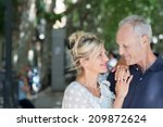 loving attractive middle aged... | Shutterstock . vector #209872624