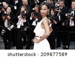 cannes  france   may 14  zoe... | Shutterstock . vector #209877589