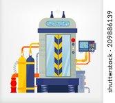 machine | Shutterstock .eps vector #209886139