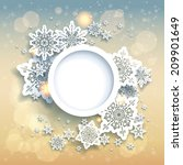 spectacular christmas... | Shutterstock . vector #209901649
