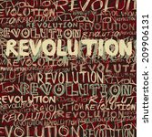 revolution abstract background  ... | Shutterstock .eps vector #209906131