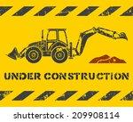 Grunge Yellow Under...