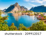 Reine Fishing Village On...