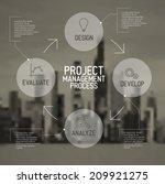 modern vector project... | Shutterstock .eps vector #209921275