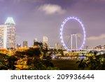 singapore flyer | Shutterstock . vector #209936644