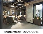 interior of a empty restaurant... | Shutterstock . vector #209970841