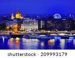budapest and danube river... | Shutterstock . vector #209993179