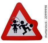Warning Children Playing