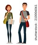 cartoon illustration of... | Shutterstock .eps vector #210006061