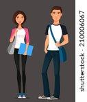 cartoon illustration of... | Shutterstock .eps vector #210006067