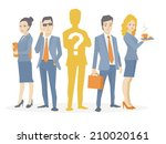 vector illustration of a... | Shutterstock .eps vector #210020161