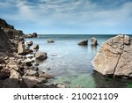 coastal cliffs  coastline ... | Shutterstock . vector #210021109