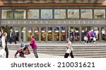 glasgow  scotland   april 16 ... | Shutterstock . vector #210031621