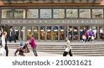 glasgow  scotland   april 16 ... | Shutterstock . vector #210031621