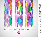 vector abstract background of... | Shutterstock .eps vector #210052141