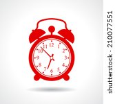 alarm clock icon | Shutterstock .eps vector #210077551