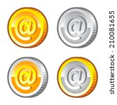 set of game coins with internet ...