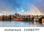 Rainbow Over Prague Castle ...