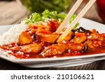 Sweet And Sour Chicken With...