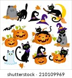 Halloween Kitty Cats And Funny...