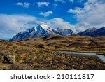 parque nacional torres del... | Shutterstock . vector #210111817