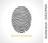 fingerprint scan icon.
