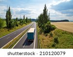 the rural landscape with a... | Shutterstock . vector #210120079