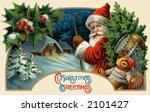 'christmas Greetings'   Santa...