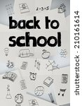 back to school message against... | Shutterstock . vector #210161614