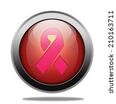 breast cancer ribbon icon.... | Shutterstock . vector #210163711