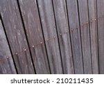Ole Wood Fence Weathered...