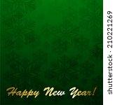 christmas background | Shutterstock .eps vector #210221269