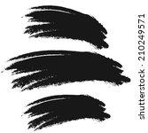 vector spot of black paint | Shutterstock .eps vector #210249571