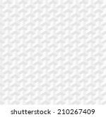 white geometric texture.... | Shutterstock . vector #210267409