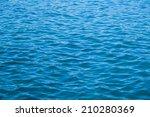 Blue tones of ocean sea water texutre - stock photo