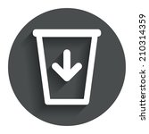 send to the trash icon. recycle ...